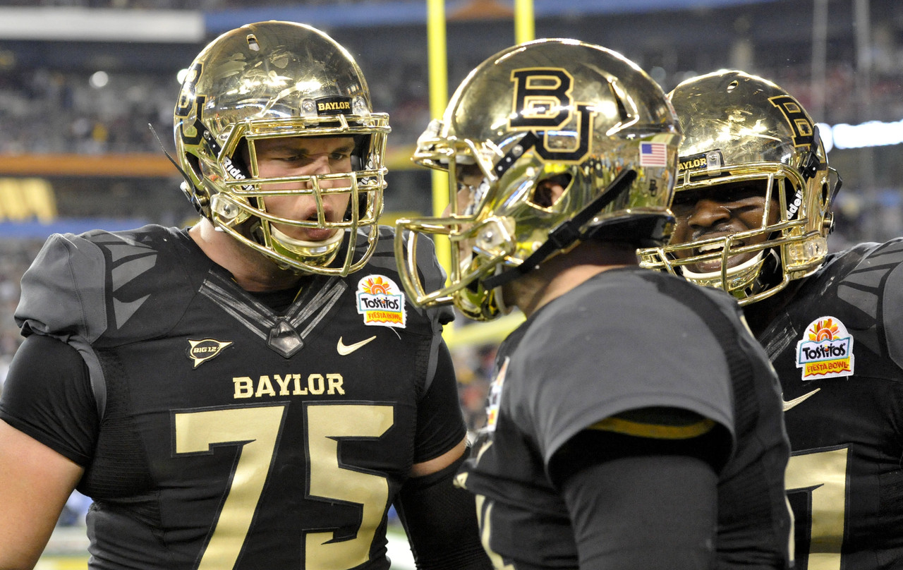 college football locations baylor football line